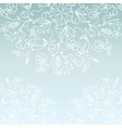 White paper snowflake background vector image vector image