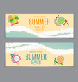 abstract summer sale vector image vector image