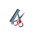 barber shop accessory icon design vector image