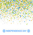 celebration banner for indian independence day vector image vector image