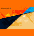 background geometric grunge vector image
