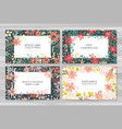 background cards templates vector image vector image