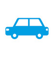 car vehicle transport pictogram isolated image vector image