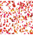 color abstract random christmas background vector image vector image