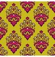 Damask festive seamless pattern vector image vector image
