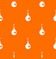 earring pattern seamless vector image vector image