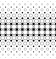 monochrome abstract circle pattern background vector image vector image