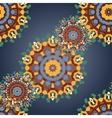 Print Seamless mandala pattern Vintage decorative vector image