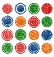 stamp shape grunge ink rubber vector image vector image