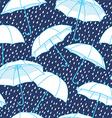 Umbrella pattern background vector image