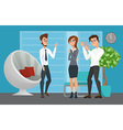 Business professional work team Business People vector image vector image