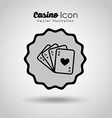 casino game design vector image vector image