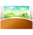 Home Landscape View vector image vector image