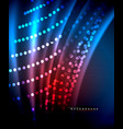 Neon glowing techno lines hi-tech futuristic