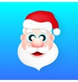 Santa Claus new year vector image
