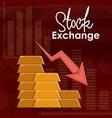 Stock Exchange design vector image vector image