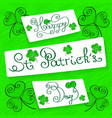 saint patrick s day vector image