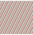 diagonal pattern in retro colors vector image
