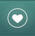 like or favorite heart icon social media like vector image