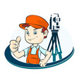 surveyor vector image vector image