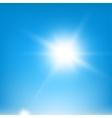 Sky Blue Beams vector image
