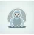 Yeti Snowman Bigfoot is a unique of vector image
