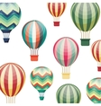 balloon air hot travel vector image vector image