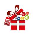 big sale design vector image vector image