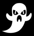 cartoon ghost vector image vector image