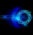 digital technology vector image