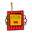dynamite icon icon cartoon vector image vector image