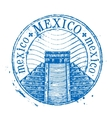 mexico logo design template shabstamp vector image vector image