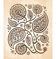 Oriental decorative pattern vector image vector image