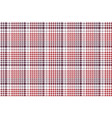 pixel fabric texture check plaid tablecloth vector image vector image
