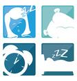 Sweet dreams design vector image