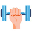 take exercise flat vector image