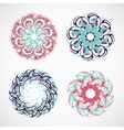 Circle ornaments vector image vector image