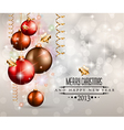 Elegant classic christmas background vector | Price: 1 Credit (USD $1)