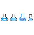fish liquid chemical retort collage vector image