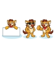 Hyena Mascot happy vector image vector image