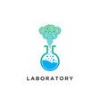 laboratory icon technologytest tube symbol logo vector image vector image