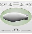 airship 1 vector image