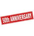 50th anniversary square stamp