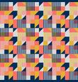 bauhaus style geometric seamless pattern vector image vector image