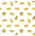 christmas star tree topper pattern vector image