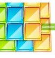 color glossy tiles background vector image