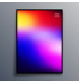 colorful gradient texture for wallpaper flyer vector image vector image