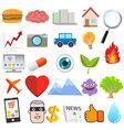 Object Design Cartoon vector image vector image