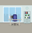 office concept vector image vector image