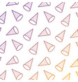 seamless pattern with rhombus in 3d style memphis vector image vector image